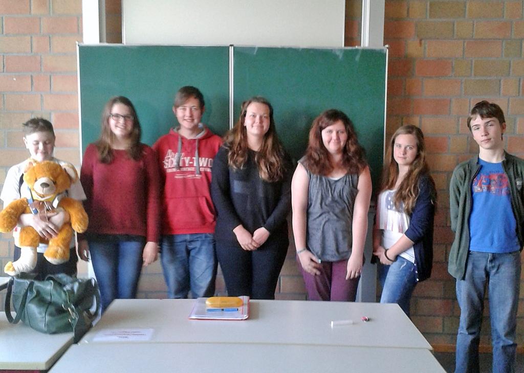 Schulsanitäter der GE Hennef
